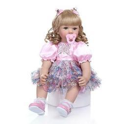 24 Inch 60cm Reborn Baby Dolls Toddler Baby Doll Realistic R