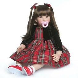 24in 60cm Lovely Reborn Baby Girl Doll Reborn Toddler Realis