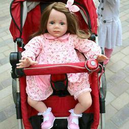 "24"" Reborn Baby Dolls Handmade Vinyl Silicone Toddler Newbor"