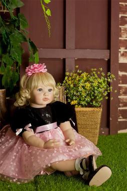 "24"" Reborn Baby Toddler Dolls Silicone Vinyl Real Alive Newb"