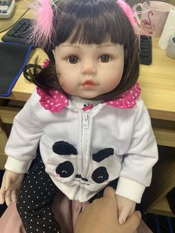 18inch Adorable Real Looking Reborn Toddler Girls Baby Dolls
