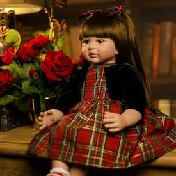 "60cm Reborn Baby Dolls Girl Real Child Size 24"" Toddler Girl"