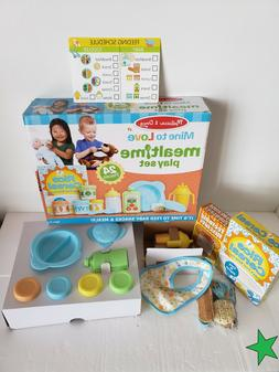 Melissa & Doug Mine to Love Mealtime Play Set for Dolls with