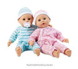 "Melissa & Doug Mine to Love Twins Luke & Lucy 15"" Ligh"