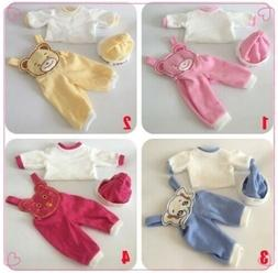 4 style Doll Clothes Sets Suit  for 22 inch Reborn Baby Doll