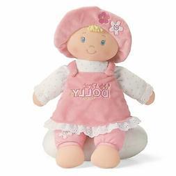 Gund 59033 My First Dolly Blonde Stuffed Doll
