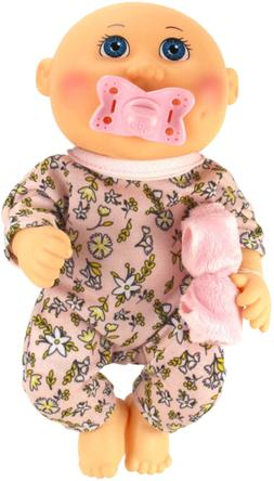 """Cabbage Patch Kids 9"""" Snuggle Time Girl, Blue Eyes"""