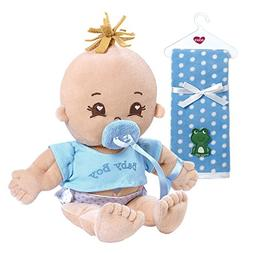 Adora My First Baby Boy Soft Plush Cuddly Play Doll with Pol