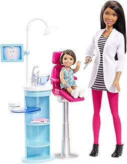 Barbie Dentist Doll & Playset