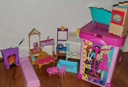 Barbie Store It All Carrying Case by Tara Toys,Pink,Large