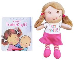Big Sister I Am a Doll and Book Bundle