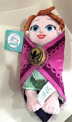 Disney Parks Frozen Baby Anna in a Blanket Plush Doll 10 inc
