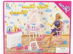 "Gloria Baby Home Nursery Play Set  for 11.5"" dolls"