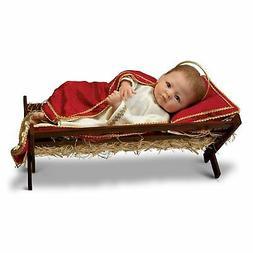 Linda Murray Jesus, The Savior Is Born Porcelain Baby Doll b