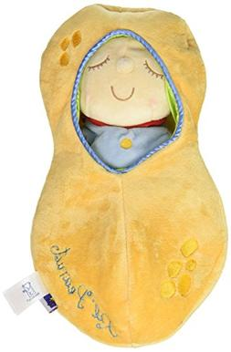 Manhattan Toy Snuggle Pod Lil' Peanut First Baby Doll with C
