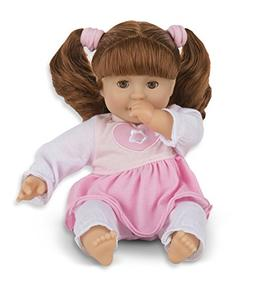 Melissa & Doug Mine to Love Brianna 12-Inch Soft Body Baby D