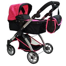 Mommy & me 2 in 1 Deluxe doll stroller  9620