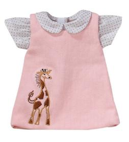 Sophia's 15 Inch Baby Doll Pink Jumper with Giraffe Detail &