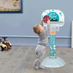 Adjustable Basketball Hoop System Kids Goal Over Door Indoor