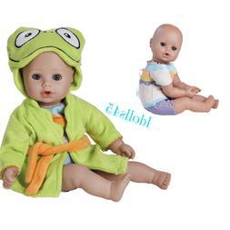 Adora Baby Doll, 13 inch BathTime- Frog/Blue Eyes