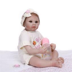Adorable Reborn Baby Girls Lifelike Toddler Dolls Girl Kids
