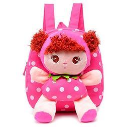 Adorable Girl Schoolbag Nursery Small Backpack Rucksack Bag