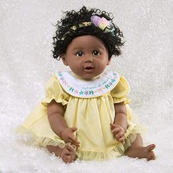 Paradise Galleries African American Black Reborn Baby Doll R