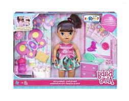 Baby Alive Brianna's Butterfly Party Brunette Playset