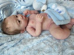 ANGELIC Full Body SILICONE Baby BOY Doll - NOEL by MARTA GLA