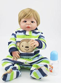 """NPK collection AnneDoll Cute 22"""" Full Body Silicone Reborn D"""