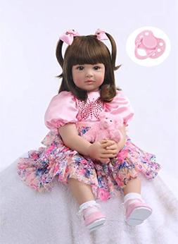 """AnneDoll 24"""" Silicone Reborn Baby Doll Toys 60cm Princess To"""