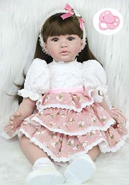 """NPK collection AnneDoll 24"""" Soft Fabric Body Silicone Reborn"""