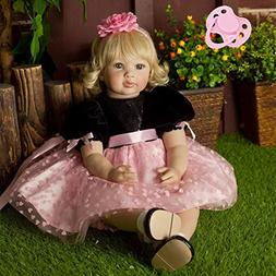 NPK collection AnneDoll 23inch Toddler Girl Doll 58cm Toddle