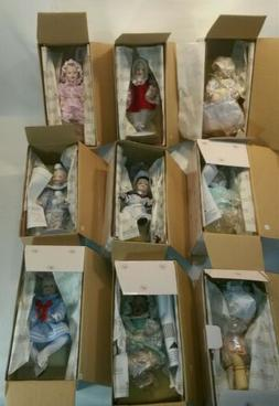☆ Ashton-Drake Galleries Baby Dolls Lot Of 9 Different New