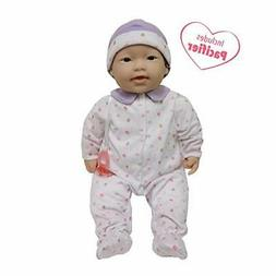 JC Toys, Asian La Baby 20-inch Soft Body Pink Play Doll - Fo