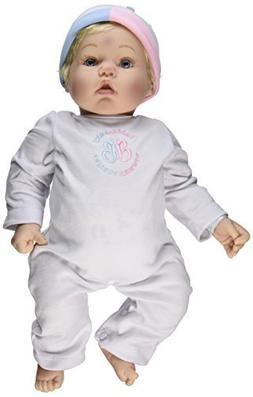 Madame Alexander Babble Baby, Blonde Hair, Blue Eye Baby Fac