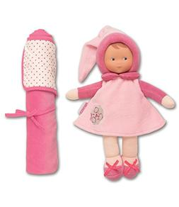 Corolle Babi Blanket Doll, Miss Pink