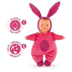 Corolle Babibunny Nightlight Grenadine Baby Doll