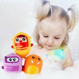 Baby Bath Toy Doll Bathtub Float Spray Water Squeeze Toys So