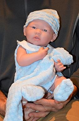 """Baby Boy""""Jim"""" Blanket Gift Set- Doll Therapy for Memory Care"""