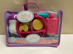 My Sweet Love Baby Doll Accessories Feeding Set- 8 Pieces Ne