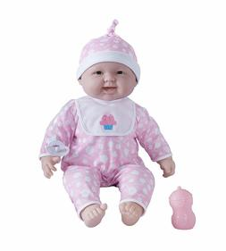 JC Toys Baby Doll Babies' 20-Inch Pink Soft Body Baby Doll
