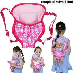 Baby Doll Carrier Backpack Accessories Front Back Sleeping B