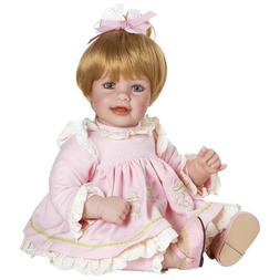 "Adora Baby Doll, 20 inch ""Rosebud"" Blonde Hair/Blue Eyes"
