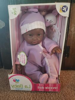 Jc Toys Baby Doll La Baby 11-inch Washable Soft Body Play Do