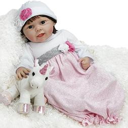 Paradise Galleries Silicone Vinyl Reborn Baby Doll That Look