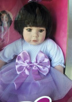 "ADORA BABY DOLL PURPLE Charisma Brand 18""? Mint in Box Toddl"
