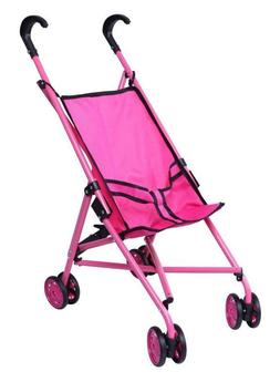 Baby Doll Stroller Set For Little Girl Toddler Toy With Hand