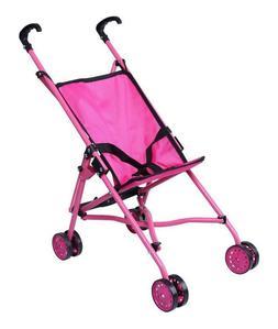 Baby Doll Umbrella Stroller Set For Little Girl Kid Toy Pink