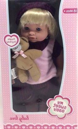 "Toysmith Baby Love 13"" Doll"